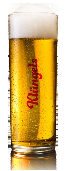Klüngels Bierglas erfrischend